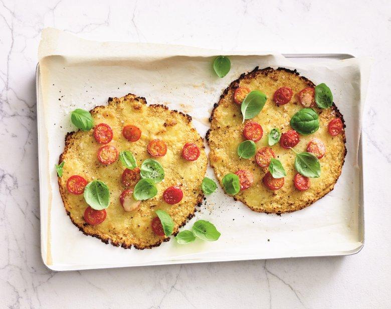 Mini-Blumenkohl-Pizzen