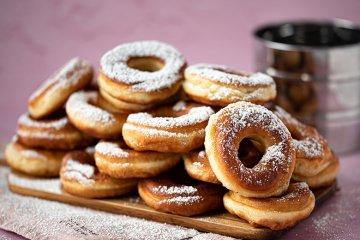 Sahne-Donuts