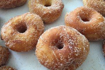 Donuts aus Hefeteig