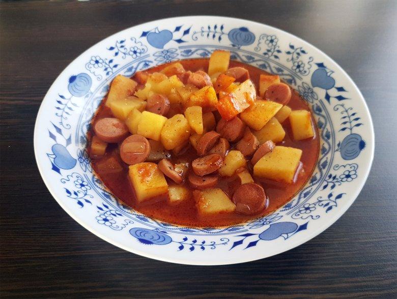 Kartoffel-Wurst-Eintopf