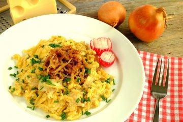 Käsespätzle aus Vorarlberg