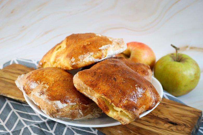 Apfelnudeln