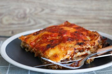 Chinakohl-Lasagne