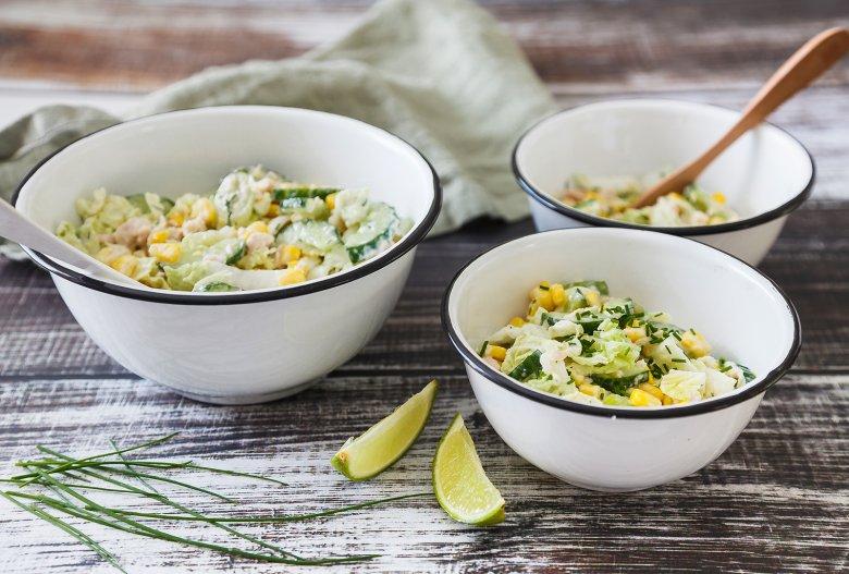 Chinakohlsalat mit Thunfisch