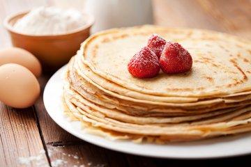 Eierpfannkuchen Grundrezept
