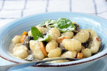 Gnocchi mit Pilzsauce
