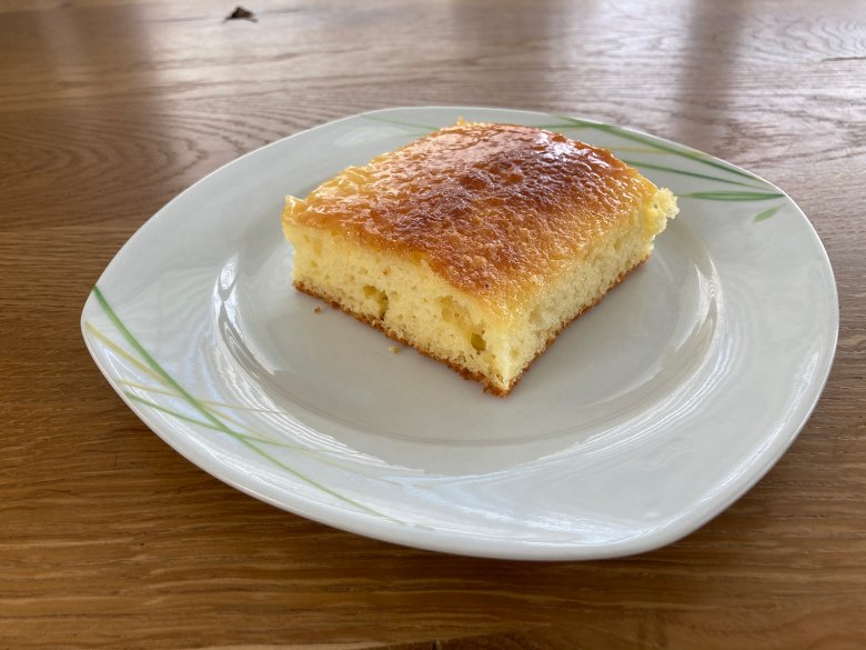 Crème-fraîche-Kuchen