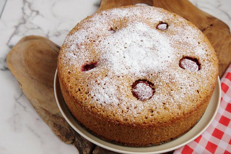 Pflaumen-Dinkelkuchen