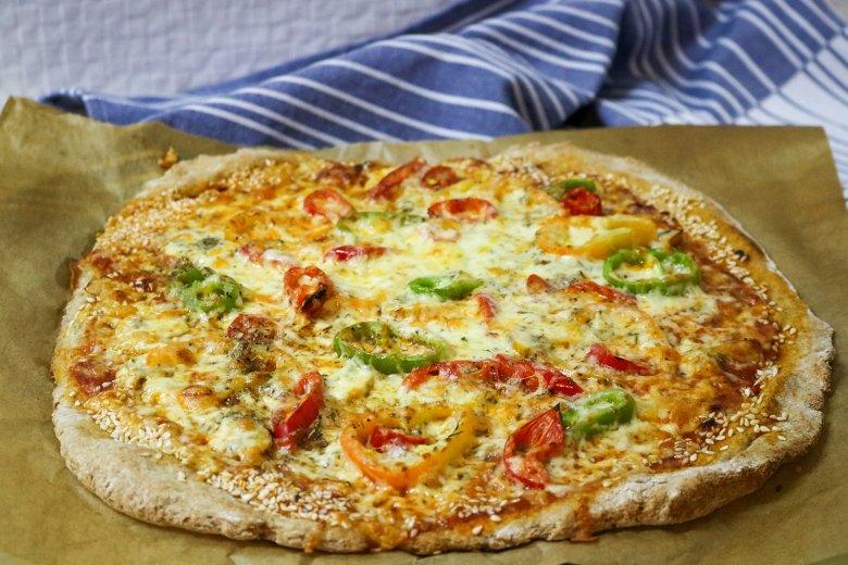 Dinkel-Pizza-Teig