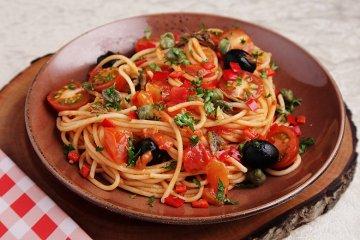 Mamas Spaghetti alla puttanesca