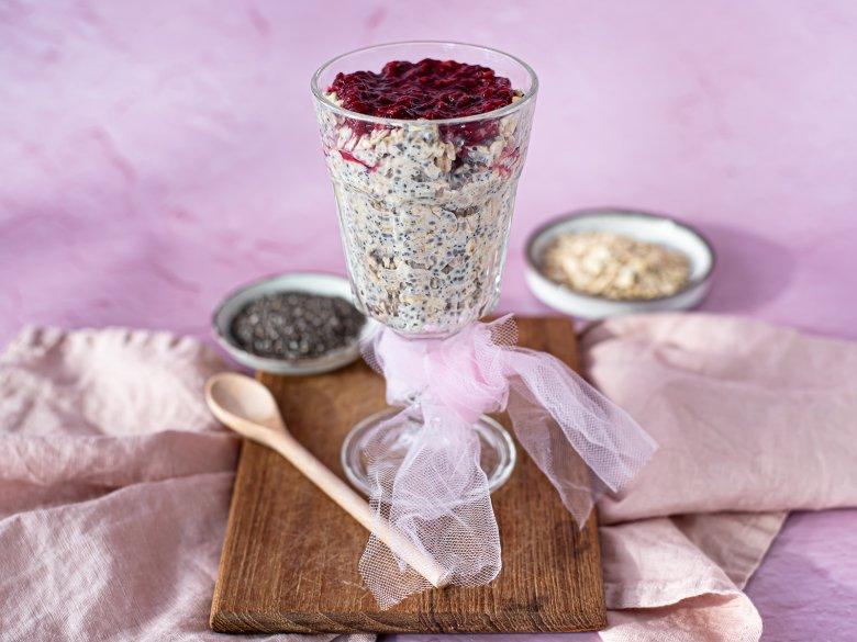 Porridge mit Chia-Samen