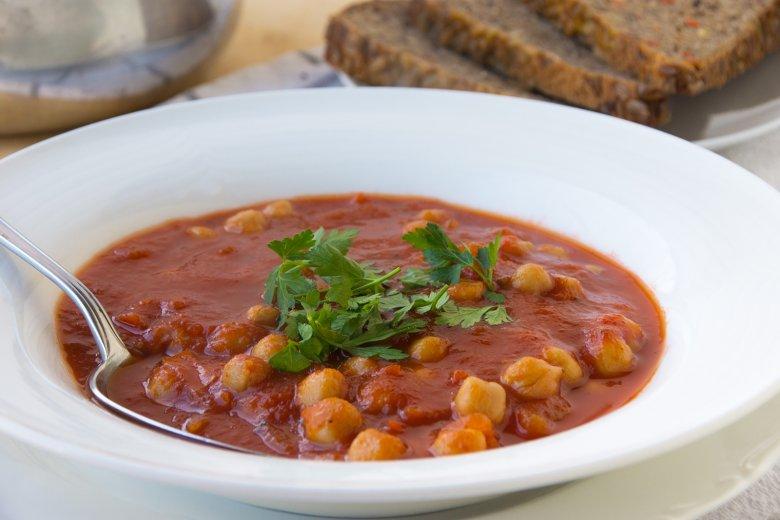 Kichererbsen-Tomaten-Eintopf