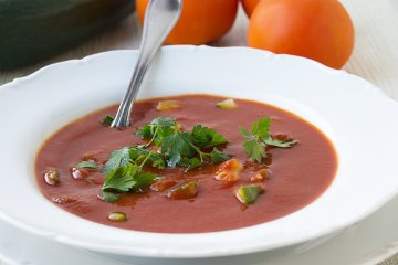 Tomaten-Gemüse-Eintopf