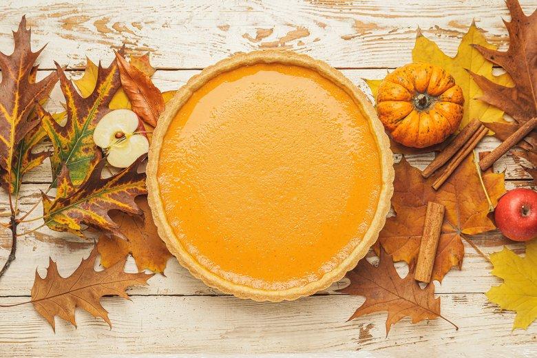 Einfacher Pumpkin Pie