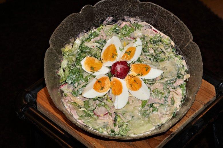 Würziger Chefsalat