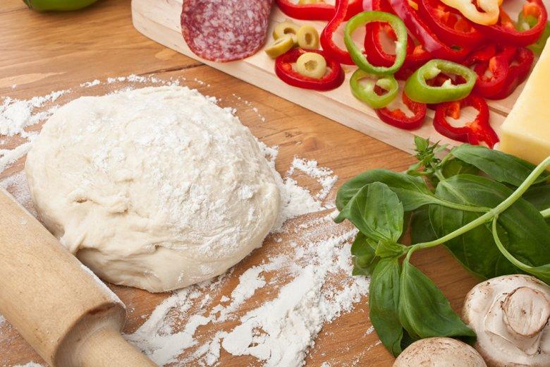 Pizzateig aus Italien