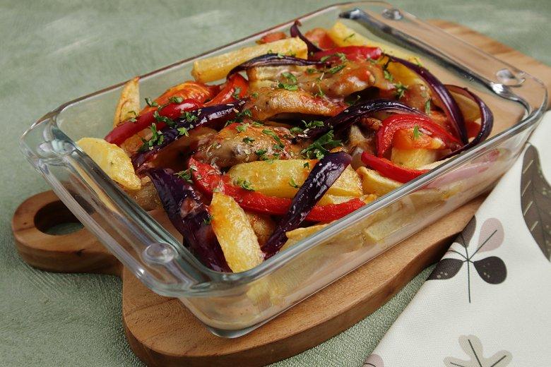 Türkischer Kartoffelauflauf