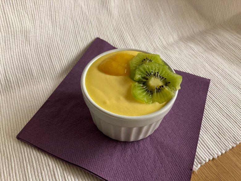 Mango-Kiwi-Dessert