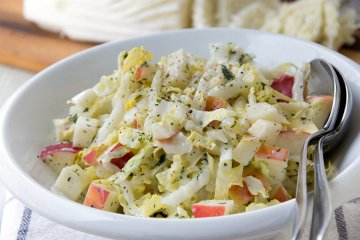 Chinakohl-Apfel-Salat