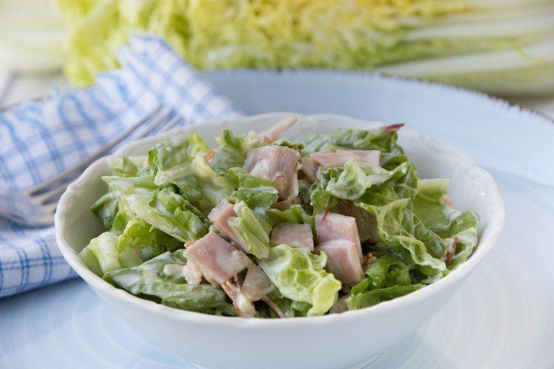 Chinakohlsalat mit Sahne