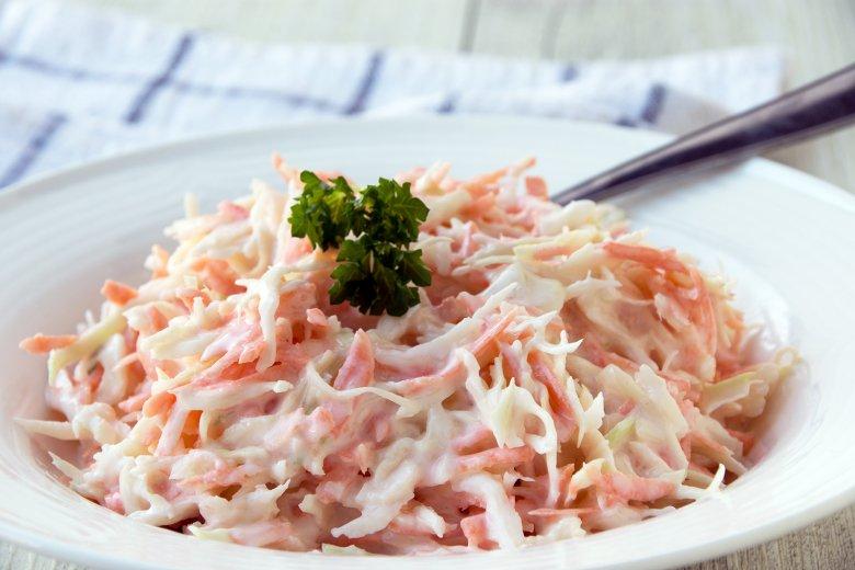 Kohlsalat mit Möhren