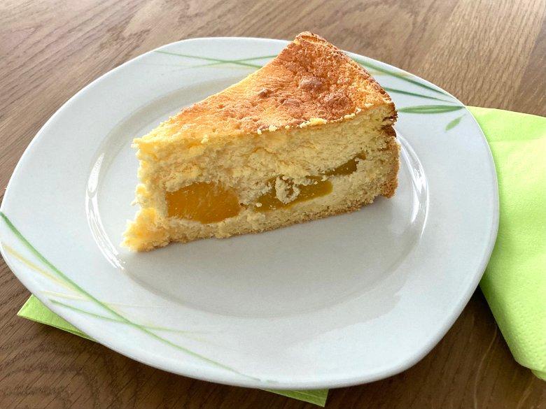 Pfirsich-Käsekuchen