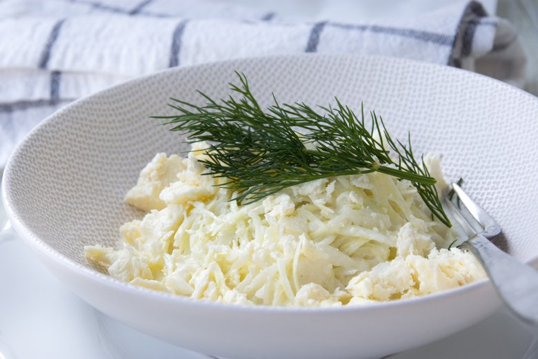 Kohlsalat mit Joghurt