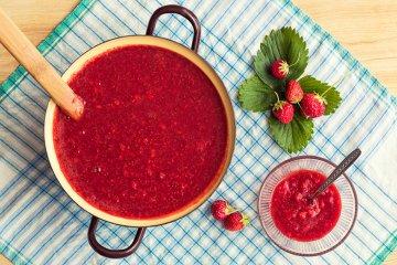 Zuckerfreie Erdbeersauce