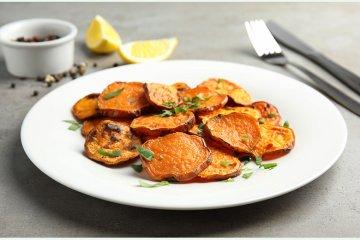Weiche Süßkartoffelbeilage