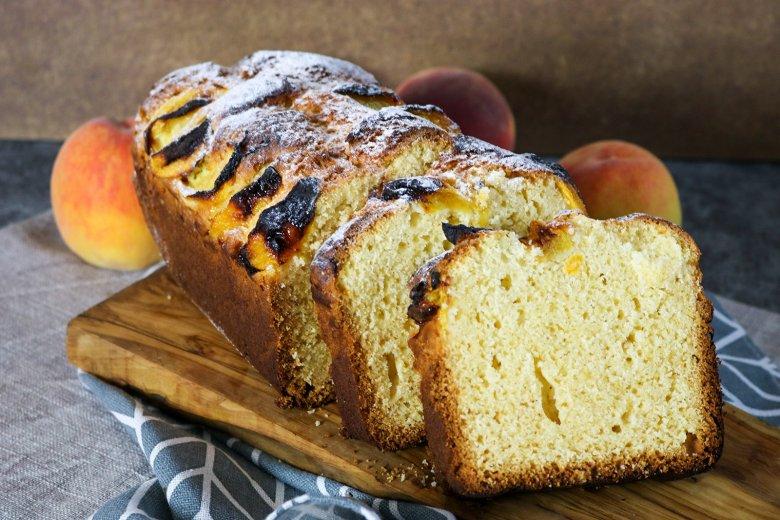 Pfirsich-Vanillekuchen