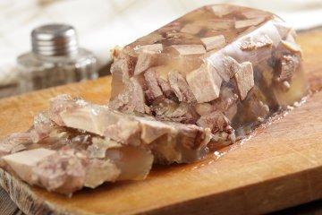 Sülze mit Rindfleisch