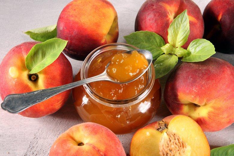 Pfirsich-Zimt-Marmelade