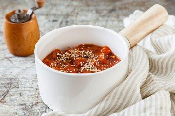 Tomatensauce mit Datteln