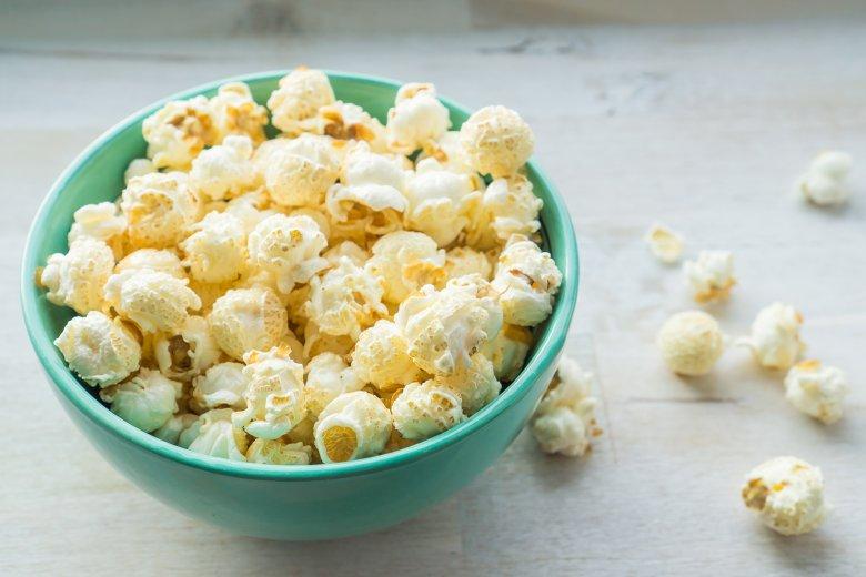 Salziges Popcorn