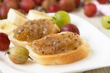 Bananen-Stachelbeer-Marmelade