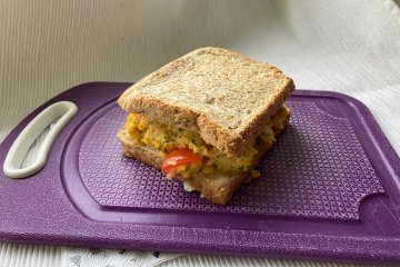 Rührei-Sandwiches