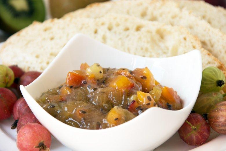 Stachelbeer-Nektarinen Marmelade