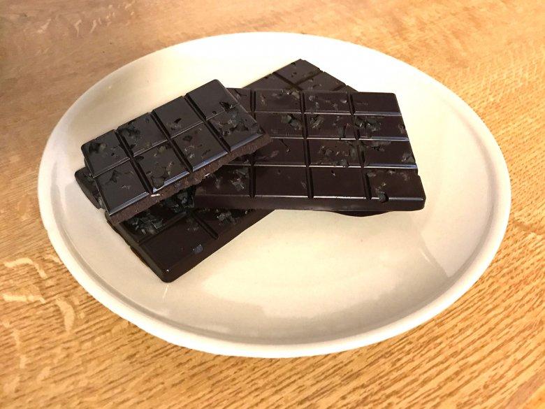 Finnische Lakritzschokolade
