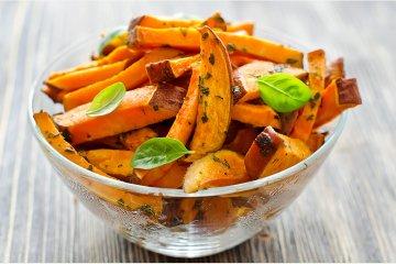 Süßkartoffeln im Ofen