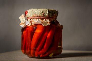 Eingelegte Chili