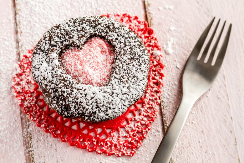 Herz-Muffins