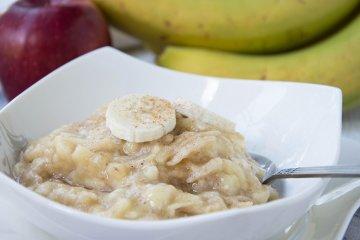 Apfel-Bananenbrei