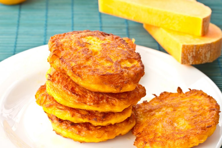 Kartoffel-Kürbis-Puffer