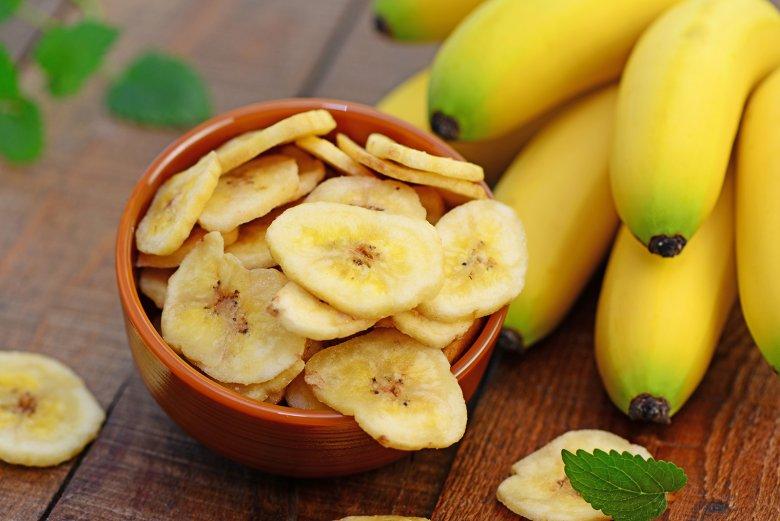 Bananenchips selber machen