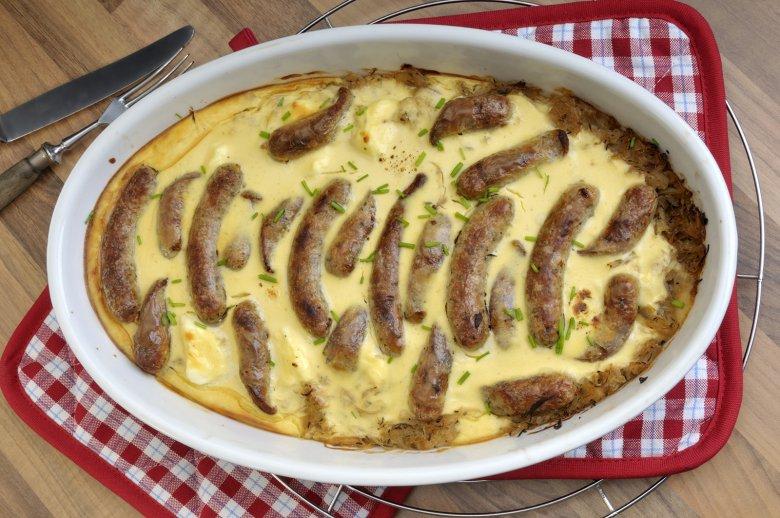 Nürnberger Sauerkraut mit Schmand