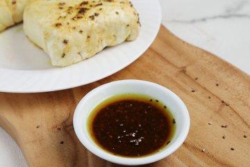 Curry-Chia-Marinade für Tofu