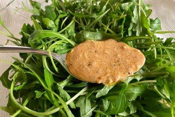Vegane Joghurtmarinade mit Knoblauch