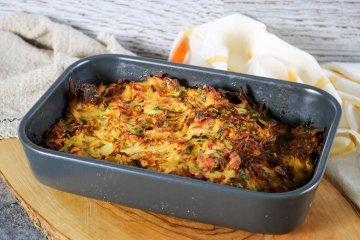 Kartoffel-Pfannkuchen-Auflauf