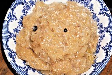 Sauerkraut mit Mehlschwitze