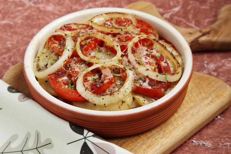 Einfacher Tomatenauflauf
